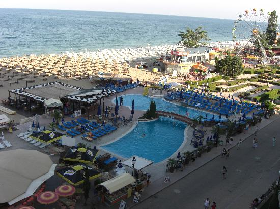 Hotel Admiral: Sea view from balcony