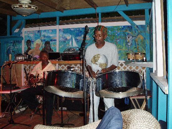 Jenny's Place: Jazz-night -mr. Emmanuel to the left