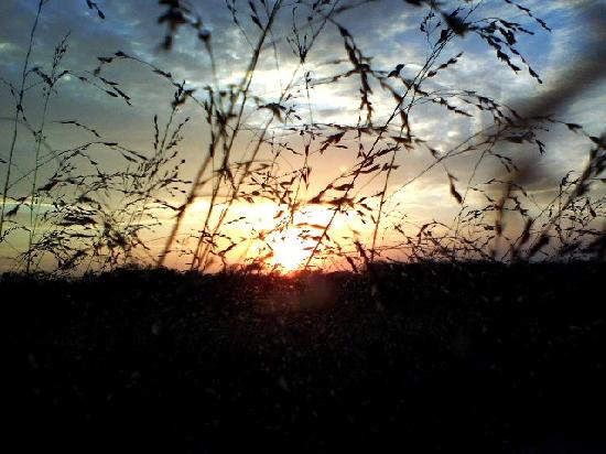 Indian Cave State Park: A beautiful sunset at Indian Cave
