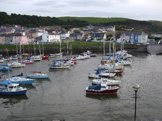 Harbourmaster Hotel: the view from our room