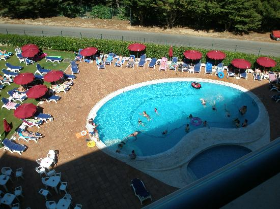 Alpinus Hotel: Pool From Our Balcony