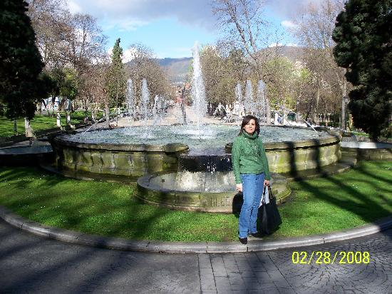 Oviedo, İspanya: Parke San Francisco
