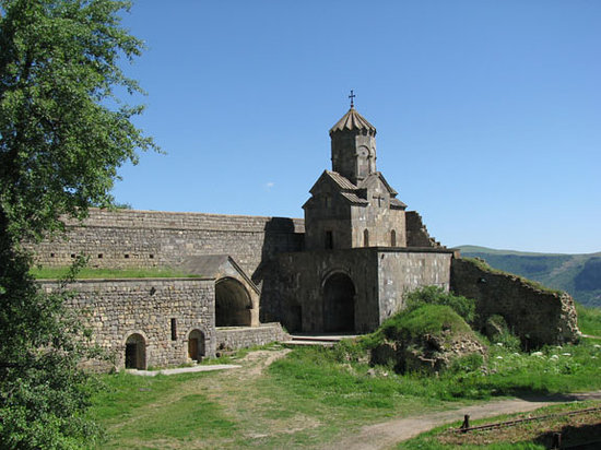 side wall church at Tatev Monastery