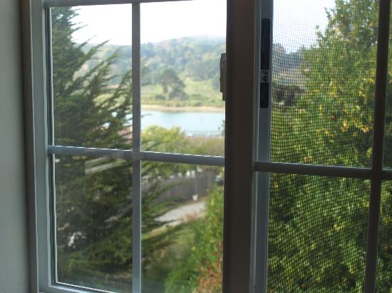 The Jenner Inn: View from Upstairs Bedroom in Mill Cottage