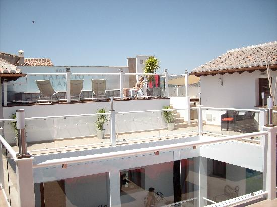 Hotel Palacio Blanco: Roof terrace