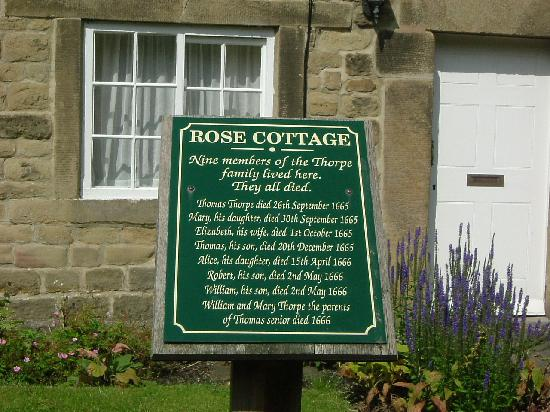 ‪‪Eyam‬, UK: Rose Cottage‬
