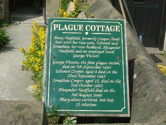 Eyam, UK: Plague Cottage