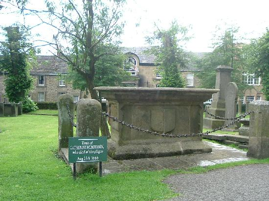 Eyam, UK: Catherine Mompesson
