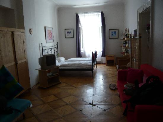 Residence Prague Center: Bedroom 2/Living room