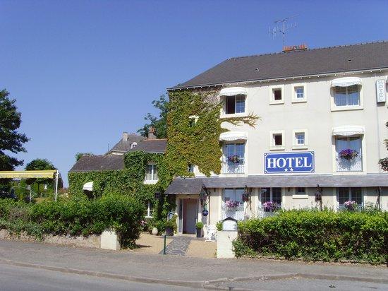 Бриссак-Кинс, Франция: Hotel Le Castel at Brissac-Quince