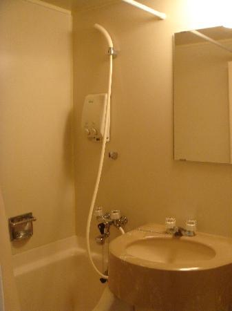 Osaka Fujiya Hotel: bathroom