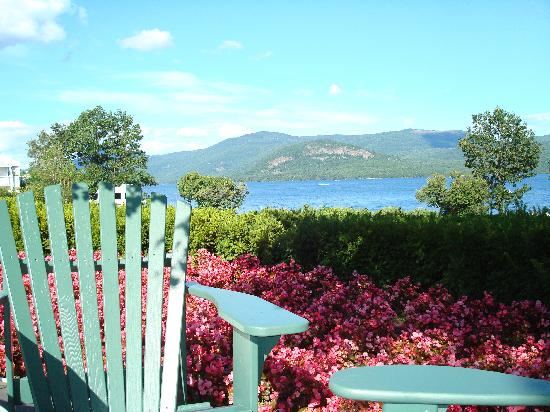 The Sagamore Resort: View of Lake from Patio