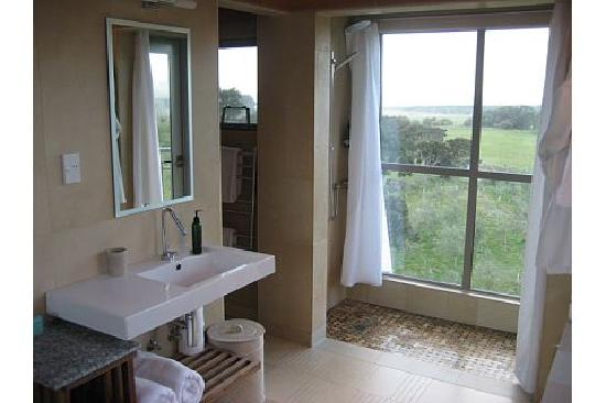Hapuku Lodge: Bathroom-Shower