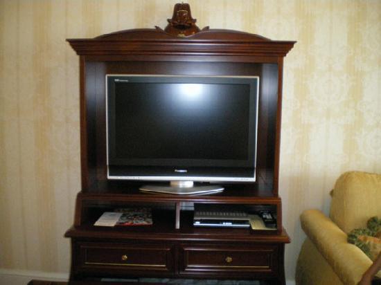 Tokyo Disneyland Hotel: TV Cabinet In The Room