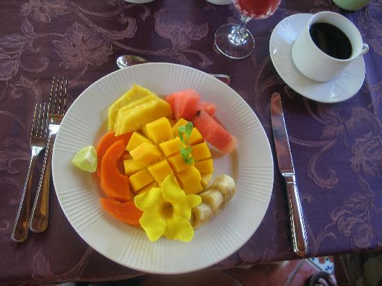 Coral Hill Bungalows: Breakfast