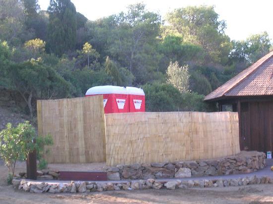"""Club Valtur Parco Torre Chia : I """"servizi igenici"""" della spiaggia"""