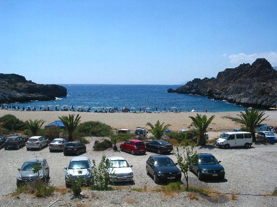 Sunrise Hotel & Apartments: Shinaria Beach near Plakias