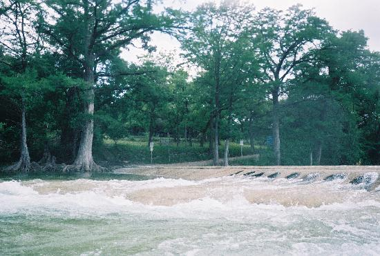7A Ranch Resort: The water was up that day! lots of fun!