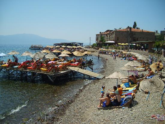 Assos, Turkey: beach