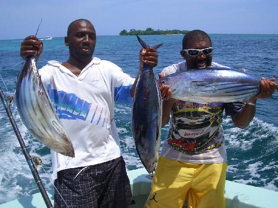 Deep sea fishing team picture of sandals negril beach for Deep sea fishing jamaica