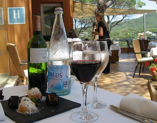 Casamar Hotel: Dinner on the terrace.