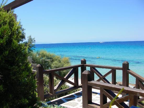 Sani Club: Views from Sani Beach Club