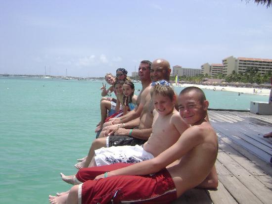 Aruba: pelican pier