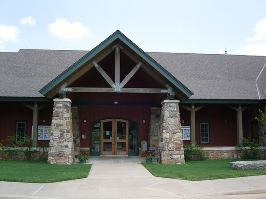 The Lodge at Mount Magazine: visitor center