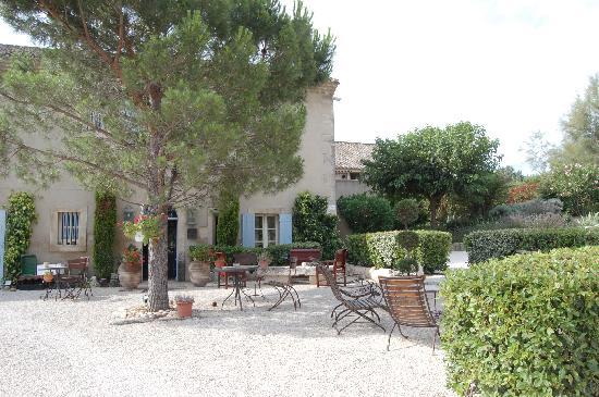 La Maison - Domaine De Bournissac: terrasse