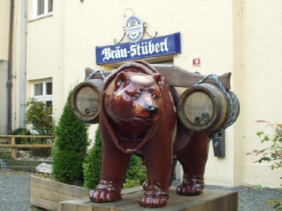 Freising, Alemania: Weihenstephan mascot