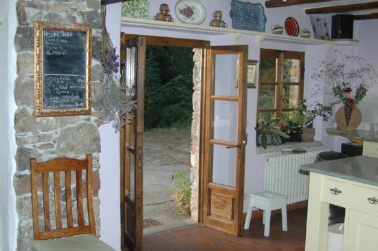 Il Fabbro: kitchen