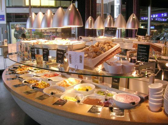 tibits: The food selection