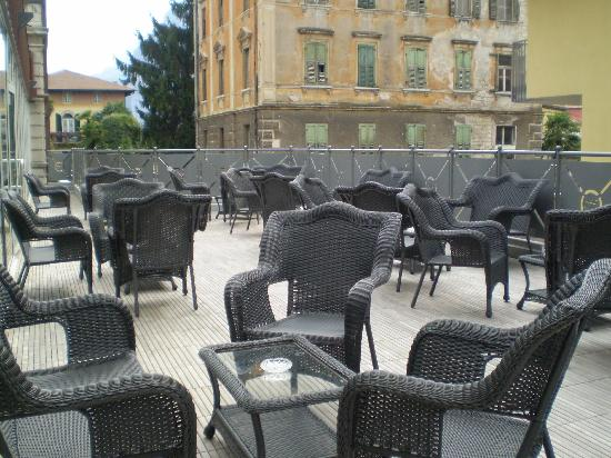 Grand Hotel Liberty: new terrace