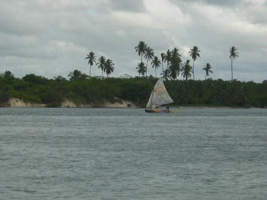 Canguaretama, RN: Barra do Cunhaú
