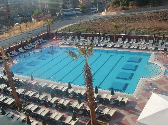 Club Aida: view from balcony