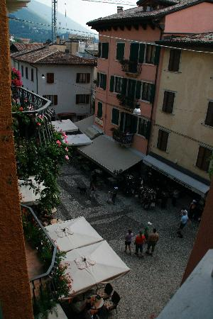 Albergo Aurora: View from our room