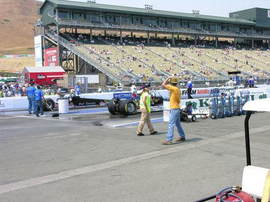 Sonoma Raceway: View of the Grandstands