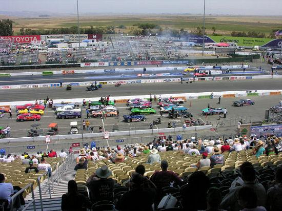 Sonoma Raceway: View from the Grandstands