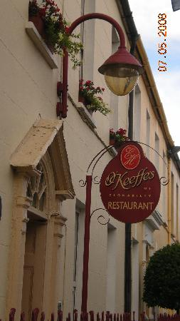 Glendine Irish Home: Clonakilty Dinner, recommended by Mick and Mari, and really excellent!