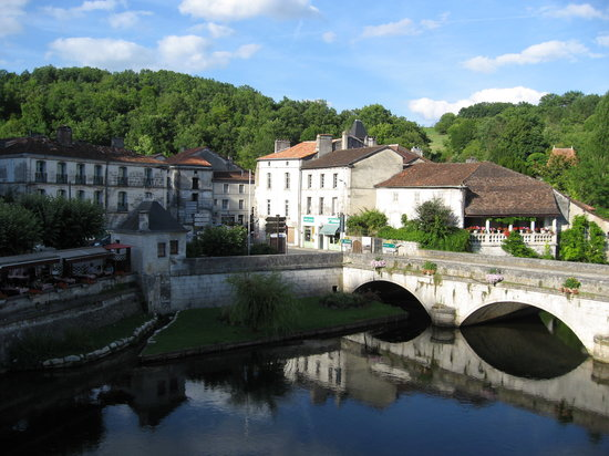 Brantome, France: Balcony view