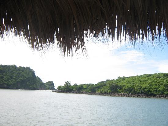 Vista desde Hotel La Joya del Golfo, Meanguera, El Salvador