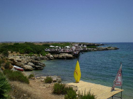 VOI Arenella Resort: Am Meer