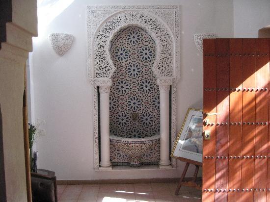 Dar El Kanoun : The entrance