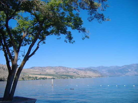 Chelan, Etat de Washington : Lake View from the Park