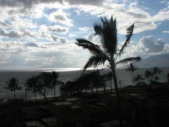 Kamaole Beach Royale Resort, ( #608): view from lanai
