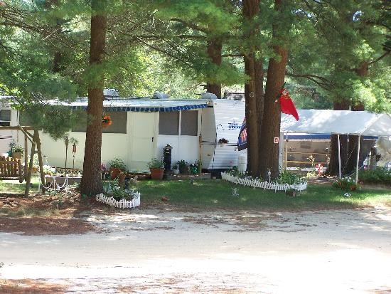 Ellis Haven Campground: seasonal sites