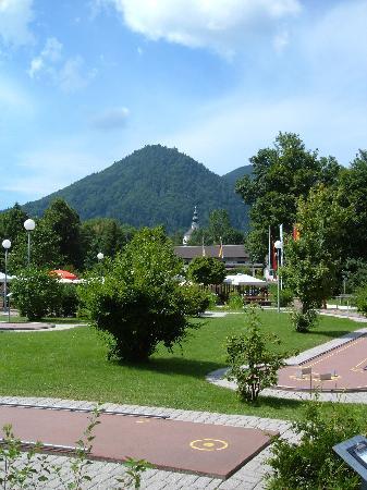 Steinbach Hotel: minigolf course
