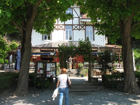 La Tonnellerie: La terrasse