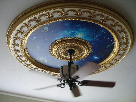 Nestlenook Estate & Resort : beautiful ceiling in master suite