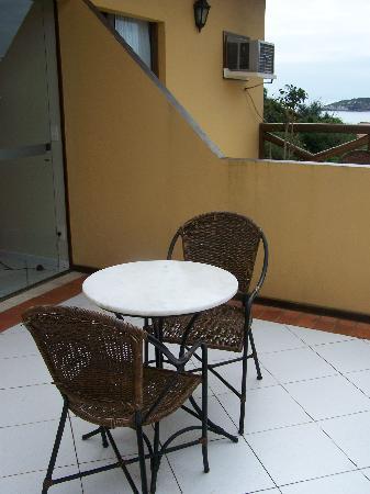 Rio Buzios Beach Hotel: Balcony
